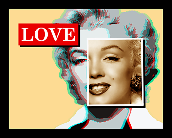 Marilyn Love Yellow - Oil