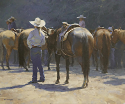 Laurie Kersey - Mountain Oyster Club Contemporary Western Art Show & Sale
