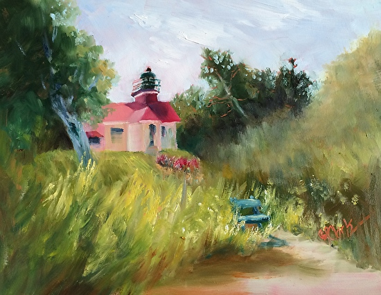 Grand Traverse Lighthouse - Oil
