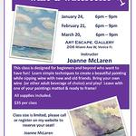 Joanne McLaren - Wine and Watercolor