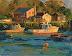 Autumn Harbor by Ann Larsen