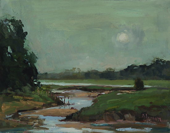 Moon Marsh - Oil