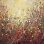 Lauren Combs - Studio Acrylic Painting and Mixed Media