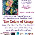 Maggie Hodges - Monson Arts Council Juried Exhibition