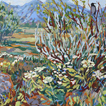 """Deliece Blanchard - Painting Demonstration - """"Improvising Color"""""""
