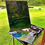 Beth Genson - Alla Prima Plein Air Painting in the Gardens