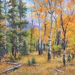Aaron Schuerr - Plein Air Pastel at Dakota Art Center