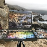 Aaron Schuerr - Lake Tahoe Plein Air Painting