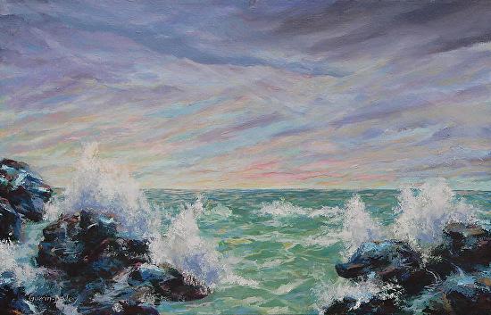 Ocean Sky Journey - Acrylic
