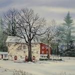 Linda Luke - Winter Watercolor 3 Day Workshop - Virtual Live Class