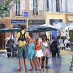 Jacqueline Chanda - Painting People in Real Settings
