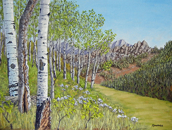 Aspen At Mount Powell - Oil