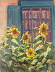 Adobe Sunflowers by Michelle Murphy-Ferguson Oil ~ 10 x 8