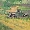 Out to Pasture by Michelle Murphy-Ferguson Oil ~ 11 x 14