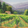 Winnette Summer by Michelle Murphy-Ferguson Oil ~ 11 x 14