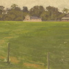 Across the Field by Michelle Murphy-Ferguson Oil ~ 12 x 24