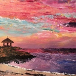 Claire Gagnon - 10/18 Paint a Sunset - Initiation to Painting