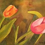 Claire Gagnon - 10/5 Paint Tulips - Initiation to Painting