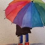 Anne Urso - CANCELLED - Watercolor 101 - Waunakee Senior Center Umbrella Girl