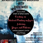 The Creative Artists Guild - Creating an Abstract Painting in Layers - Shapes & Patterns