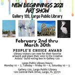 The Creative Artists Guild - New Beginnings 2021Art Exhibit & Sale