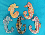 Seahorses by Amy Brown Clay ~ 8 x 6