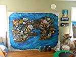 Under the Sea #3 by Amy Brown Oil ~ 6 feet x 8 feet