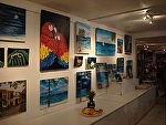 Belize Art show with Marsha by Amy Brown  ~  x