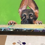 Amy Waldrop - Paint your Pooch (One Day Workshop - multiple dates available)