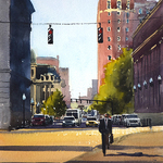Bill Lane - Painting Outside in Providence