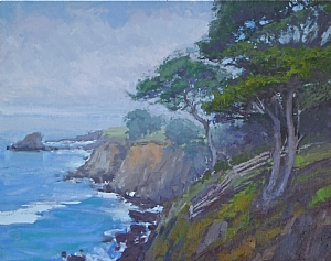 "Sea Ranch Vista by Jeffrey Horn Oil ~ 20"" x 25"""