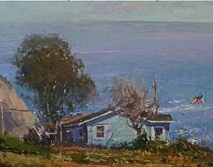 Keeping Watch by Jeffrey Horn Oil ~ 16 x 20