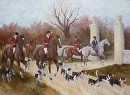 At The Gates by Marion Rose Oil ~ 22 x 30