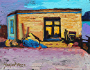 The Shack by Marion Rose Acrylic ~ 8 x 10