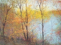 "Whispers of Turning by Frederick Somers Giclee on Paper ~ 16"" x 21 1/2"""