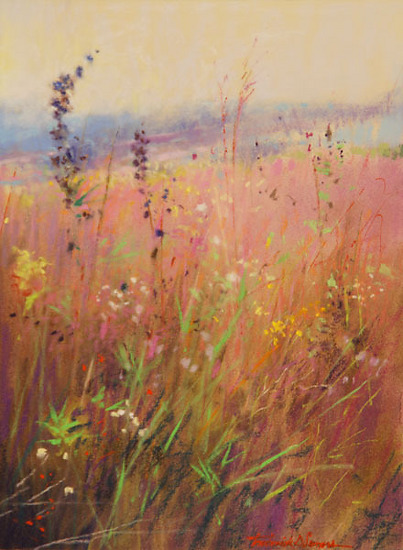 Prairie Summer by Frederick Somers Pastel ~ 12 x 9