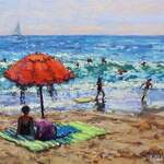 Kristen Olson Stone - Learn To Paint An Impressionist Style Seascape