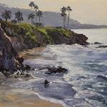 Kristen Olson Stone - Seascape Painting, The California Coast