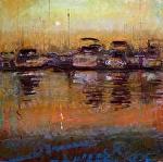 Sun Rises by Kathleen Newman Pastel ~ 12 x 12