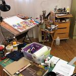 Cheryl Powell - Experimenting in my Studio during COVID19