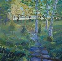 Path to the Pasture by Blanche McAlister Harris Oil ~ 20 x 20
