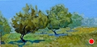 The Orchard by Blanche McAlister Harris Oil ~ 15 x 30