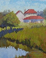 Sunwashed Afternoon by Blanche McAlister Harris Oil ~ 30 x 24