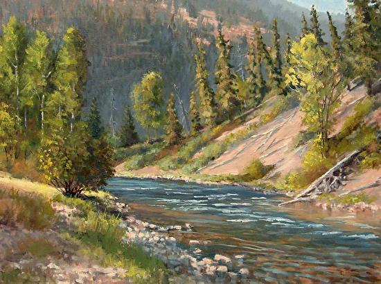 Wild Trout Waters - Oil