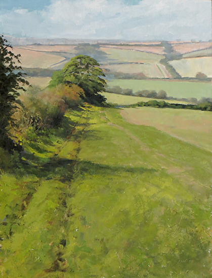 Hedge Rows - Oil