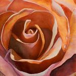 Margueritte Meier - Spring Creek Contemplative Watercolor