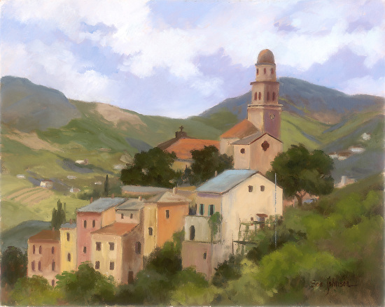 Italian Morning - oil