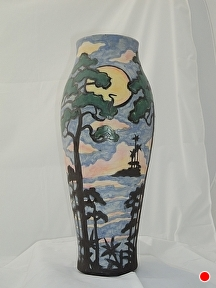 St. Johns Riverview by Martin Cushman Clay ~ 16''tall x 21'' around