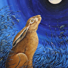 Moonwatching Hare