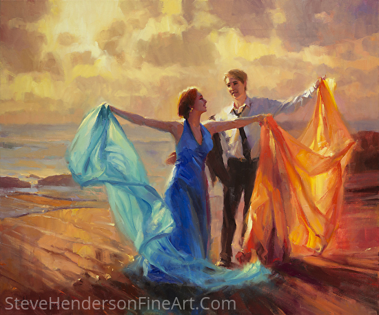 Evening Waltz by Steve Henderson Oil ~ 30 x 36
